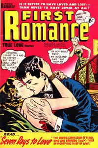 Cover Thumbnail for First Romance (Magazine Management, 1952 series) #14