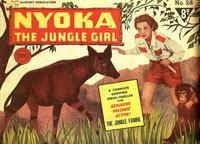 Cover Thumbnail for Nyoka the Jungle Girl (Cleland, 1949 series) #28