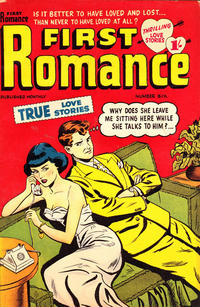 Cover Thumbnail for First Romance (Magazine Management, 1952 series) #6