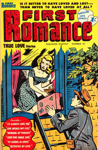 Cover Thumbnail for First Romance (Magazine Management, 1952 series) #10