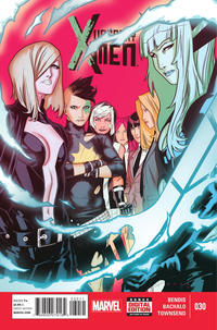 Cover Thumbnail for Uncanny X-Men (Marvel, 2013 series) #30 [Direct Edition]