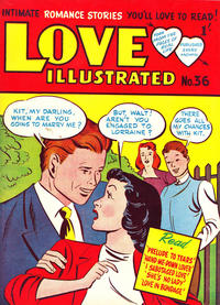 Cover Thumbnail for Love Illustrated (Magazine Management, 1952 series) #36