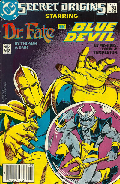 Cover for Secret Origins (DC, 1986 series) #24 [Direct]