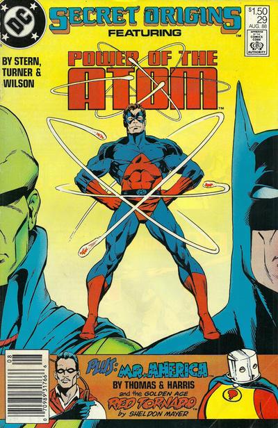 Cover for Secret Origins (DC, 1986 series) #29