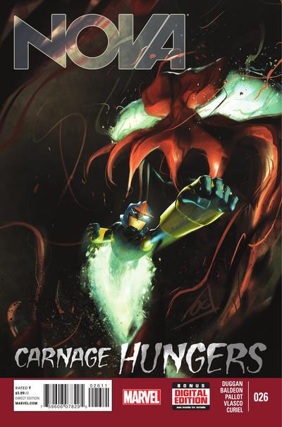 Cover for Nova (Marvel, 2013 series) #26