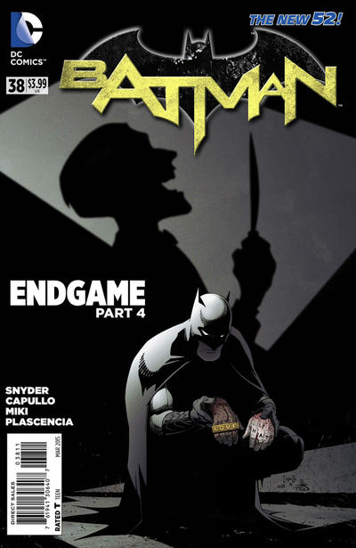 Cover for Batman (DC, 2011 series) #38 [Direct Sales]