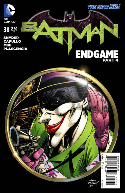Cover for Batman (DC, 2011 series) #38 [Andy Kubert Cover]
