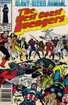 Cover for The West Coast Avengers Annual (Marvel, 1986 series) #2 [Newsstand]