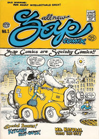 Cover Thumbnail for Zap Comix (The Print Mint Inc, 1969 series) #1 [3rd printing]