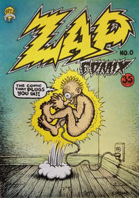 Cover Thumbnail for Zap Comix (The Print Mint Inc, 1969 series) #0 [Second Printing - 35¢]