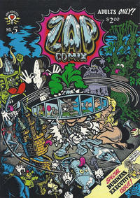 Cover Thumbnail for Zap Comix (Last Gasp, 1982 ? series) #5 [4th print- 2.00 USD]