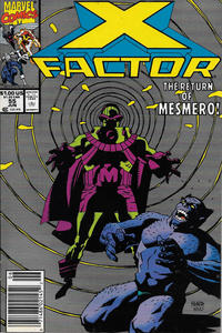 Cover for X-Factor (Marvel, 1986 series) #55 [Direct Edition]