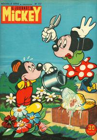 Cover Thumbnail for Le Journal de Mickey (Hachette, 1952 series) #117