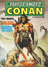 Cover Thumbnail for The Savage Sword of Conan (Marvel UK, 1977 series) #6