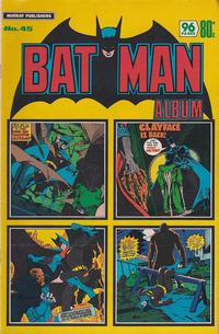 Cover Thumbnail for Batman Album (K. G. Murray, 1976 series) #45