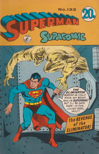 Cover Thumbnail for Superman Supacomic (K. G. Murray, 1959 series) #133