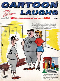 Cover Thumbnail for Cartoon Laughs (Marvel, 1963 series) #8