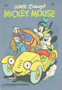 Cover Thumbnail for Walt Disney's Mickey Mouse (W. G. Publications; Wogan Publications, 1956 series) #165