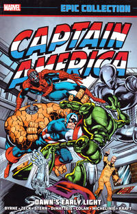 Cover Thumbnail for Captain America Epic Collection (Marvel, 2014 series) #9 - Dawn's Early Light