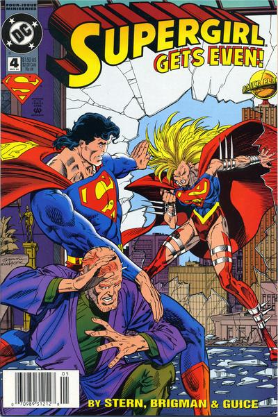Cover for Supergirl (DC, 1994 series) #4 [DC Universe Corner Box]