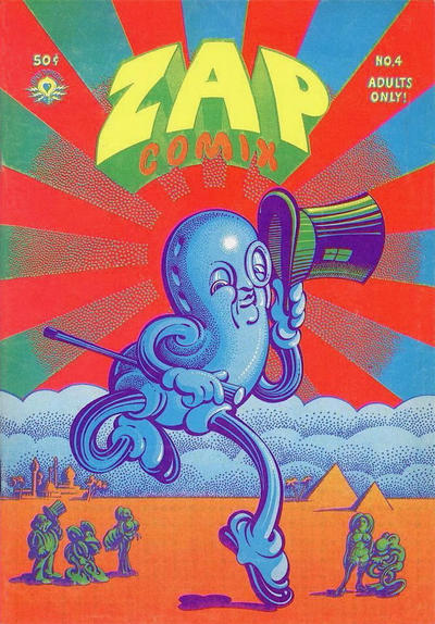 Cover for Zap Comix (The Print Mint Inc, 1969 series) #4