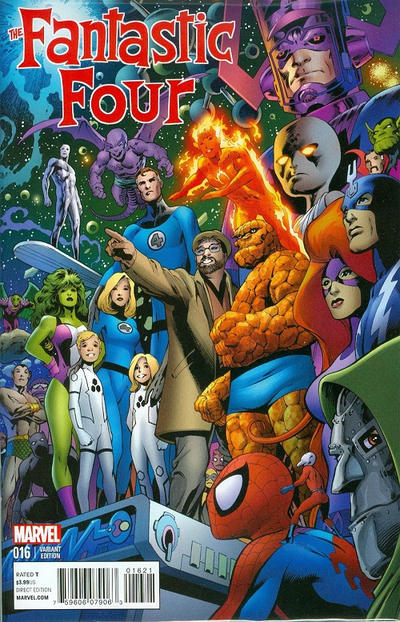 Cover for Fantastic Four (Marvel, 2013 series) #16