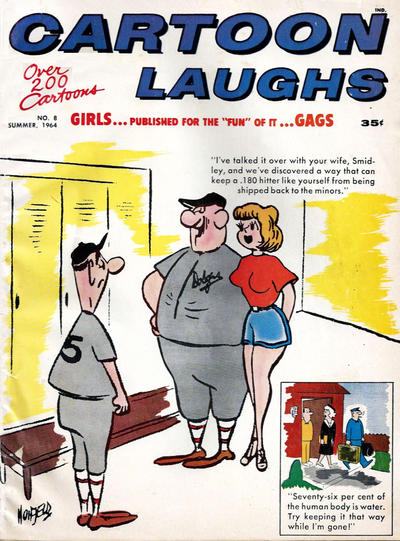 Cover for Cartoon Laughs (Marvel, 1962 series) #8