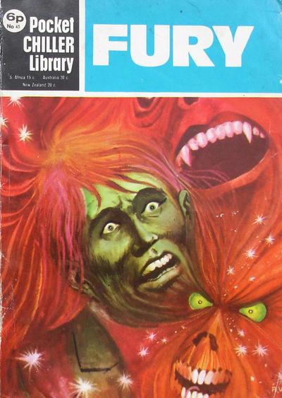 Cover for Pocket Chiller Library (Thorpe & Porter, 1971 series) #45