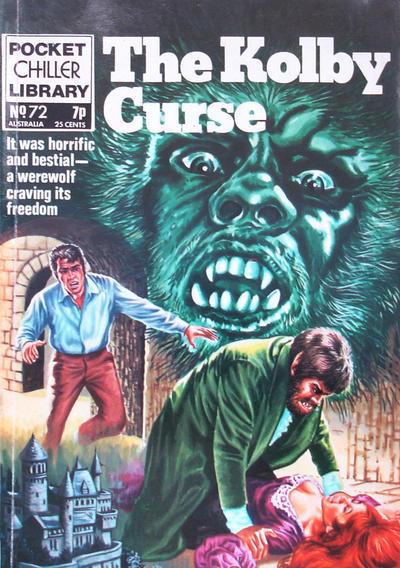 Cover for Pocket Chiller Library (Thorpe & Porter, 1971 series) #72