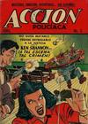Cover for Acción Policiaca (Export Newspaper Service, 1951 ? series) #5