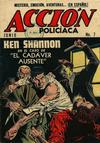 Cover for Acción Policiaca (Export Newspaper Service, 1951 ? series) #7