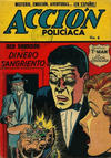 Cover for Acción Policiaca (Export Newspaper Service, 1951 ? series) #8
