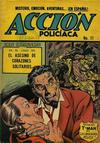 Cover for Acción Policiaca (Export Newspaper Service, 1951 ? series) #11