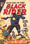 Cover for Black Rider (Horwitz, 1954 series) #1