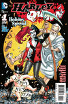 Cover Thumbnail for Harley Quinn Holiday Special (2015 series) #1 [New Year's Eve Cover]