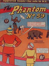 Cover for The Phantom (Feature Productions, 1949 series) #59