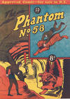 Cover for The Phantom (Feature Productions, 1949 series) #58