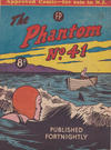 Cover for The Phantom (Feature Productions, 1949 series) #41