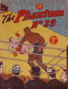 Cover for The Phantom (Feature Productions, 1949 series) #25