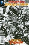 Cover for Forever Evil: Arkham War (DC, 2013 series) #2 [Jason Fabok Black & White Cover]