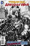 Cover for Forever Evil: Arkham War (DC, 2013 series) #4 [Jason Fabok Black & White Cover]