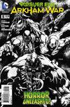 Cover for Forever Evil: Arkham War (DC, 2013 series) #5 [Jason Fabok Black & White Cover]