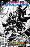 Cover for Forever Evil: Arkham War (DC, 2013 series) #6 [Jason Fabok Black & White Cover]