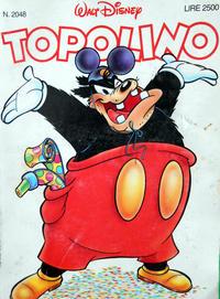 Cover Thumbnail for Topolino (The Walt Disney Company Italia, 1988 series) #2048