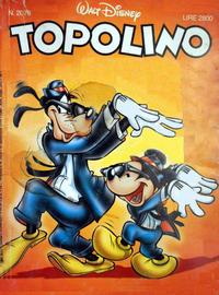 Cover Thumbnail for Topolino (The Walt Disney Company Italia, 1988 series) #2078