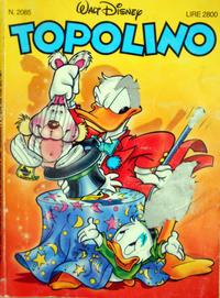 Cover Thumbnail for Topolino (The Walt Disney Company Italia, 1988 series) #2085