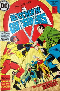 Cover Thumbnail for Batman and the Outsiders (Federal, 1984 series) #14