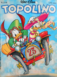 Cover Thumbnail for Topolino (The Walt Disney Company Italia, 1988 series) #2118