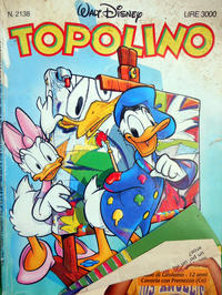 Cover Thumbnail for Topolino (Disney Italia, 1988 series) #2138