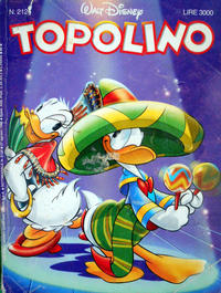 Cover Thumbnail for Topolino (The Walt Disney Company Italia, 1988 series) #2126